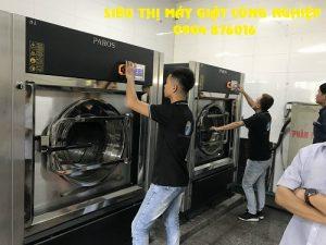 Chuyển giao máy giặt công nghiệp cho khách sạn ở Bắc Ninh