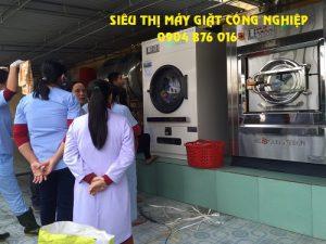 Lắp đặt máy giặt công nghiệp cho Bệnh Viện ở Tuyên Quang
