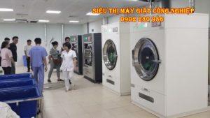 Thiết bị máy giặt công nghiệp được lắp đặt cho bệnh viện ở Yên Bái