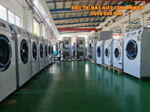 Bán thiết bị máy giặt công nghiệp cho xưởng tại Hà Nam