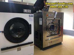 Máy giặt công nghiệp Hàn Quốc lắp đặt cho xưởng giặt