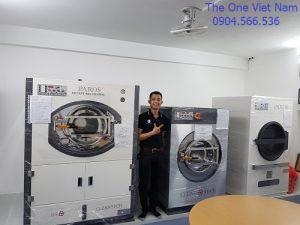 Dây chuyền thiết bị máy giặt công nghiệp cho xưởng giặt hoàn thiện tại Hà Nội