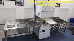 Chuyển iao máy rửa bát công nghiệp cho nhà hàng ở Hà Nộig