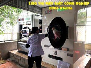 Lắp máy giặt sấy cho bệnh viện y học cổ truyền Hưng Yên