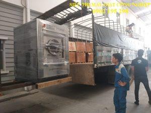 Vận chuyển máy giặt công nghiệp cho nhà máy tại Vĩnh Phúc