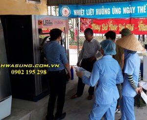 Hướng dẫn sử dụng máy giặt công nghiệp tại bệnh viện Lao - Phổi Nghệ An