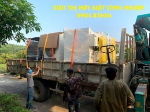 Thầu máy giặt công nghiệp cho Bệnh viện