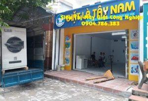 Vận chuyển máy giặt công nghiệp tới tiệm giặt ở Việt Trì - Phú Thọ