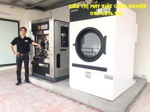 Máy giặt công nghiệp cho khách sạn tại Hòa Bình